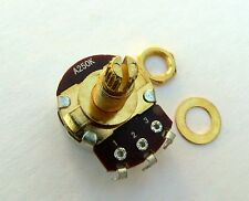 A250K long Gold pot for guitar tone & volume 250K log potentiometer 250K Ohms