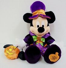 Mickey Mouse 2008 Not So Scary Halloween Plush Walt Disney Parks Pumpkin 12""