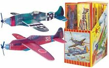 48 PACK Foam World War II Airplane Assorted Gliders. Kids Toy Fun Party Kit WWII