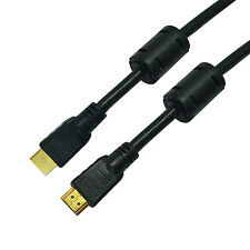 25Ft Premium HDMI to HDMI 1.4 Cable w/ Ethernet & 3D,1080p & 4K HDTV,28AWG,Gold