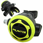 Scuba Diving Palantic AS206 Black/Yellow Second Stage Regulator Octopus