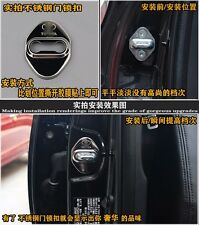 One AUTO DECORATIVE ACCESSORIES Metal CAR DOOR LOCK PROTECTIVE COVER For Toyota