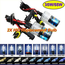 2PCS H7 6000K Car HID Xenon Replacemet Headlights Bulbs H1 H3 H8/9/11 9005/9006