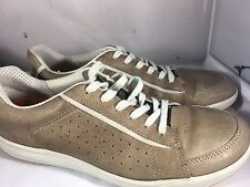 Ecco Brown Leather Sneakers Shoes Men Size 42 (US Size 9)