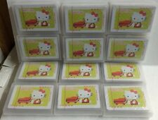 12 pack Hello Kitty Playing Cards New With Plastic Cases Wholesale Favors