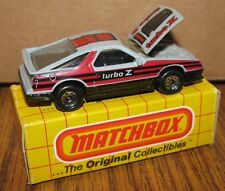 Matchbox Dodge Daytona Turbo Z Toy Car 1:58 MB28 1984 Made in Macao