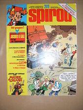 Spirou N°2018 Jacques Le Gall Lampil Les Mousquetaires Triton Paul Foran Mazel
