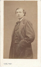 Photo cdv : Légé ; Auguste Vermorel , Commune de Paris , vers 1871