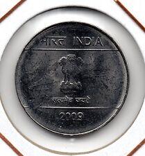 India : 1 Rupee 2009 ( Noida ) UNC