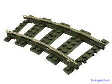 Lego® Eisenbahn 9V 10x Schienen Kurven aus   4520 Trains RC-kompatibel #49165104