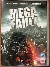 Brittany Murphy Eric La Salle MEGA FAULT ~ 2009 Earthquake Suspense GB DVD