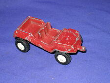 Vintage Tootsietoy Dune Buggy Diecast Toy Car 1969 3 1/4in