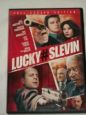 DVD Lucky # Seven Hartnett Freeman Kingsley Liu Tucci Willis