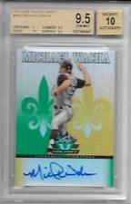 2012 LEAF VALIANT DRAFT MW2 MICHAEL WACHA BGS GEM MINT 9.5