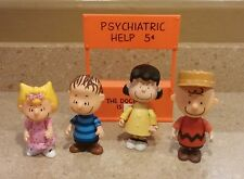 Peanuts Memory Lane Doll Figures Linus Lucy Charlie Brown Sally