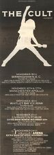 30/9/89Pgn58 Advert: See The Cult In Concert Live Dates November 1989 15x5