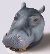 HIPPO Animal Mask FULL SIZE Realistic LATEX Costume Adult Hippopotamus Head NEW