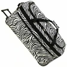 "Extra large xl 30 ""voyage à roulettes sport trolley holdall valise sac bagages"