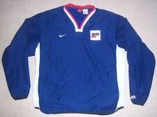 Very Rare AUTHENTIC NIKE Team USA HOCKEY Stitched Pullover JACKET XL jersey l
