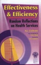 Effectiveness & Efficiency: Random Reflections on Health Services-ExLibrary