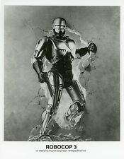 PETER WELLER PAUL VERHOEVEN ROBOCOP 1987 VINTAGE PHOTO ORIGINAL