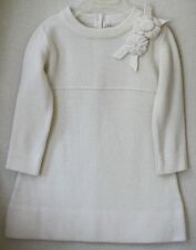 BABY DIOR CREAM CASHMERE BLEND DRESS 24 MONTHS