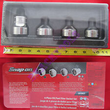 New Snap On Oil & Fuel Filter Socket 4 Piece A127 A129 A106 S3624 Set - OFSKIT