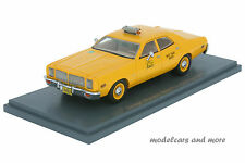 Dodge monaco-taxi New York-amarillo-New York City Taxi 1977 - 1:43 neo 43514