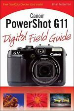 Canon PowerShot G11 Digital Field Guide-ExLibrary