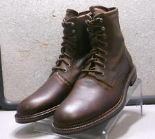 202980 SPBT50 Men's Shoes Size 9 M Brown Leather Lace Up Boot Johnston & Murphy