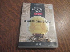 dvd la legende du ballon d'or n° 1 ronaldo - chevtchenko