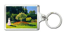 CLAUDE MONET 1867 WOMAN IN A GARDEN KEYRING LLAVERO