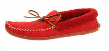 Ralph Lauren Polo Suede Shearling Yarmond Slippers New