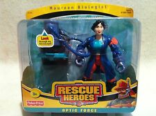 Rescue Heroes Optic Force Maureen Biologist  Factory Sealed!
