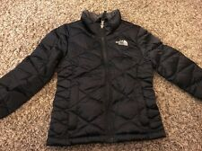 THE NORTH FACE Big Girl's Aconcagua Down Jacket Size XXS/5 Black