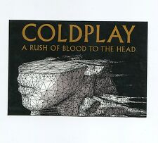 Coldplay Sticker - A Rush of Blood 2002 Promo - Chris Martin Head Dreams Laptop