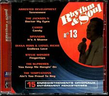 RHYTHM & SOUL N°13 - DISCO FUNK BLACK MUSIC MOTOWN - CD COMPILATION [1974]