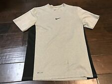 Nike Dri Fit Gray Athletic Workout Running Shirt - Size Small