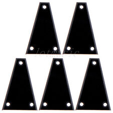 5pcs Black Plastic Electric Guitar Truss Rod Cover For Jackson Guitar Custom