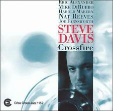Steve Davis - Crossfire (Trombone) (CD, Sep-1998, Criss Cross)