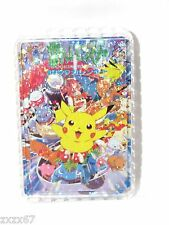 NIP POKEMON PIKACHU 1999 PLAYING CARDS 54 CARDS DECK NEW IN PLASTIC CASE
