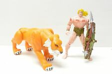 KA-ZAR & ZABU Marvel X-Men Savage Land Sabertooth Tiger Action Figure Toy Biz