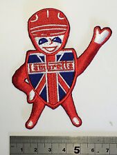 Lambretta Man Patch - Embroidered - Iron or Sew On