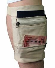 Concealed  Travel Money Belt Safe Card Money ID Passport Wallet Leg Bag Men Lady