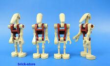 LEGO FIGURINE STAR WARS 9509 / DROÏDE DE COMBAT SECURITY / 4 PIÈCES