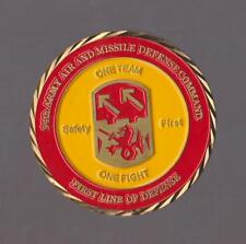 "94th Army Air And Missile Defense Command Safety    Challenge Coins 1.5 "" DIA"