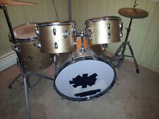 Drum Kit - Vintage 1965 Slingerland gold sparkle 4 piece kit