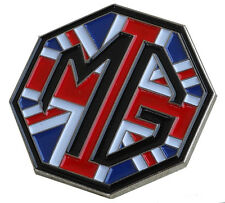 MG logo and Union Jack lapel pin for the avid MG enthusiast