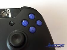 Xbox One 1 Custom ABXY Buttons with Letters Mod Kit (Blue)
