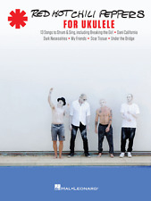 """""""RED HOT CHILI PEPPERS FOR UKULELE""""-MUSIC BOOK-BRAND NEW ON SALE SONGBOOK UKE!!"""